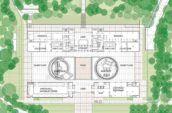 academy of sciences overhead blueprint