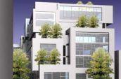 1547 Pacific Santa Cruz building exterior render