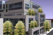 1547 Pacific Santa Cruz building exterior render corner