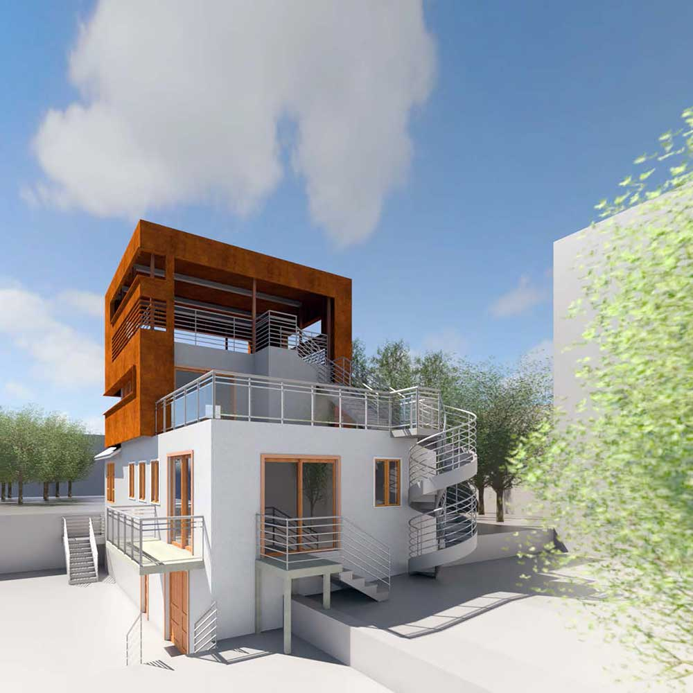 Day Street building exterior render