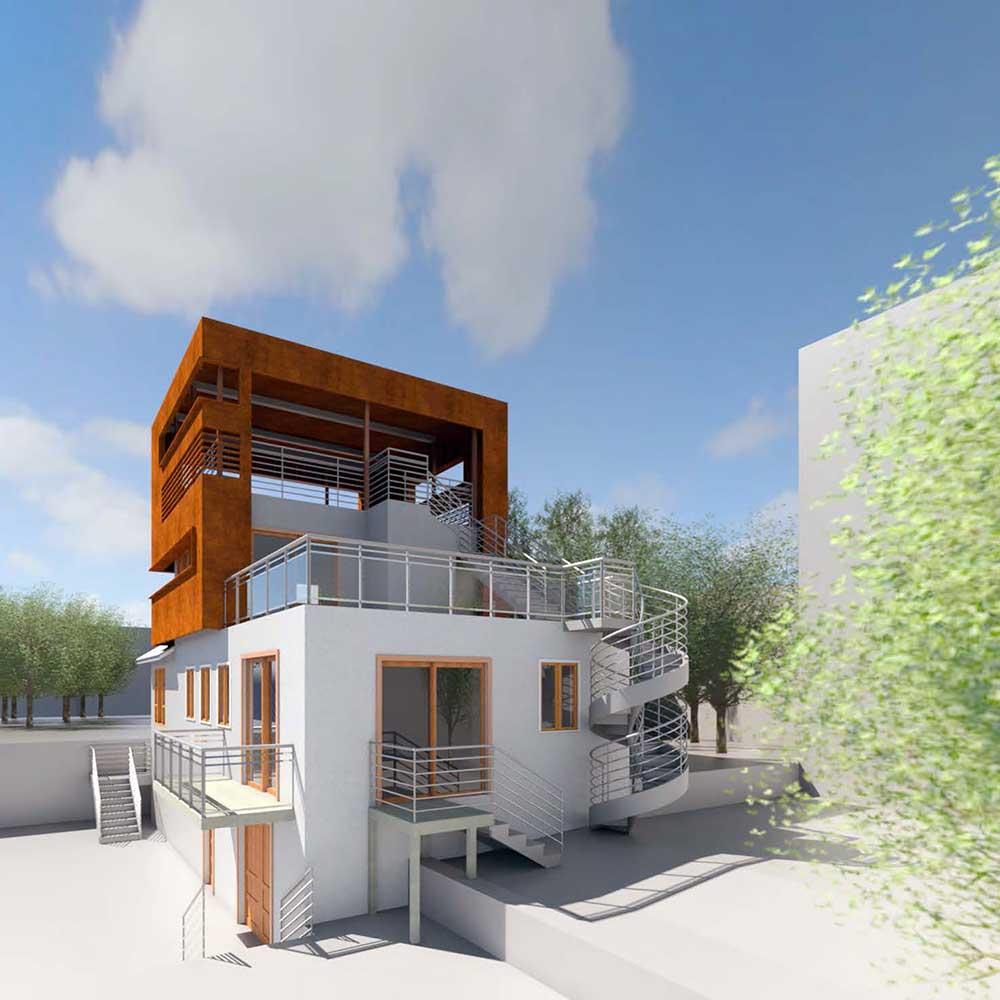 Day Street building exterior render