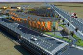 Chowchilla Mall aerial exterior render
