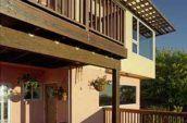 El Cerrito House deck