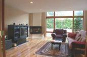 Fremont House interior living room
