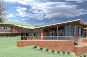 San Anselmo House building exterior render